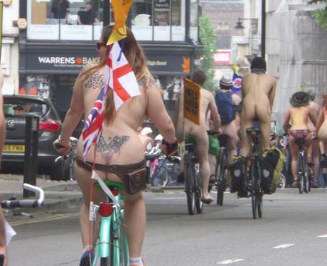 Naked Bike Ride 10