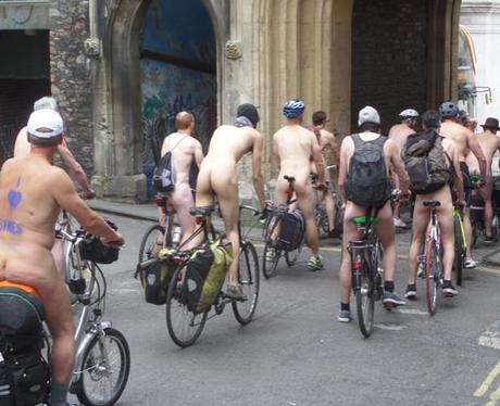 Naked Bike Ride 11