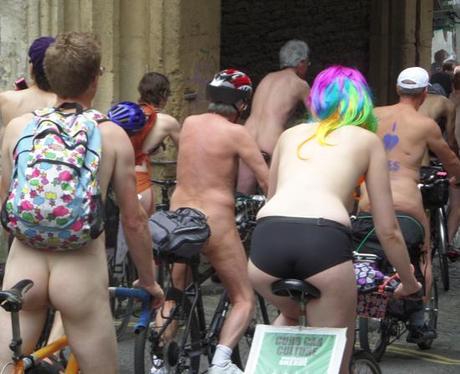 Naked Bike Ride 12