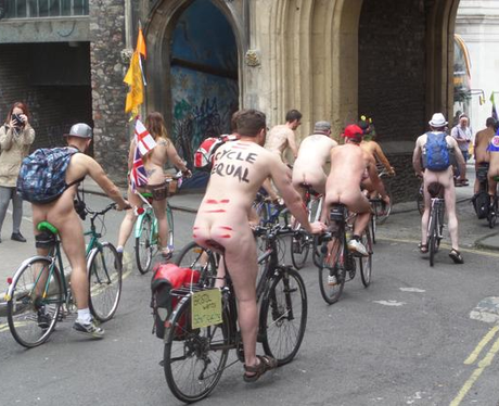 Naked Bike Ride 13