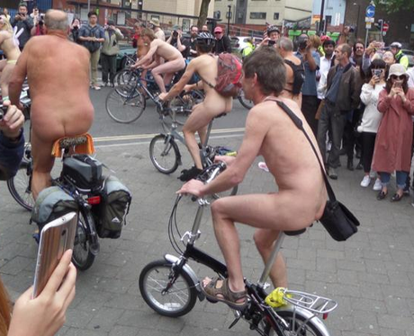 Naked Bike Ride 4