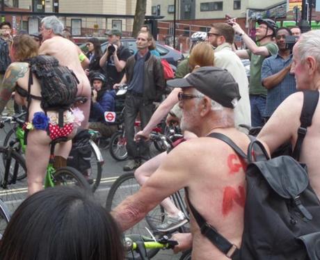 Naked Bike Ride 5