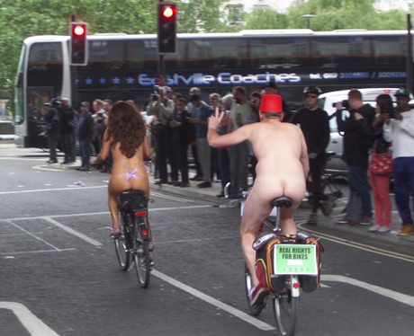 Naked Bike Ride 7