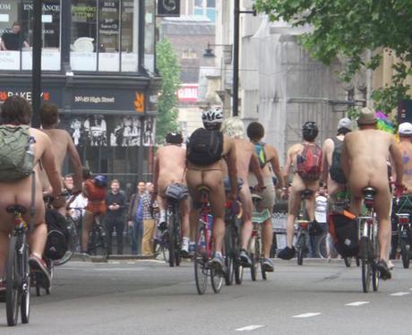 Naked Bike Ride 8
