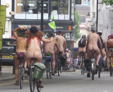 Naked Bike Ride 9