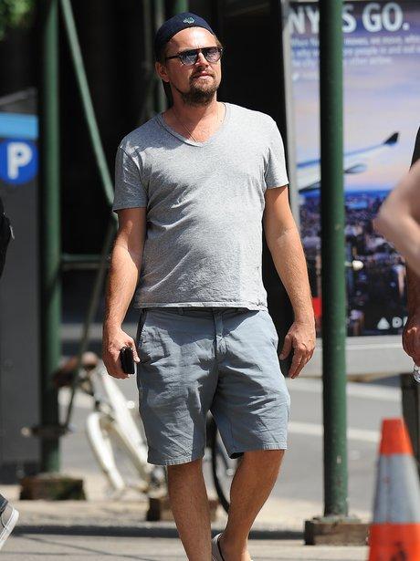 Leo DiCaprio in New York