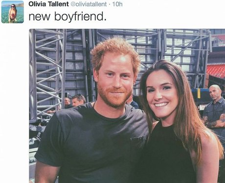 Prince Harry meets Olivia Tallent