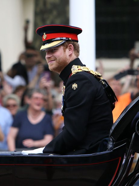 Queen's birthday trooping the colour (Saturday)