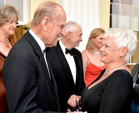 The Duke of Edinburgh and Judi Dench