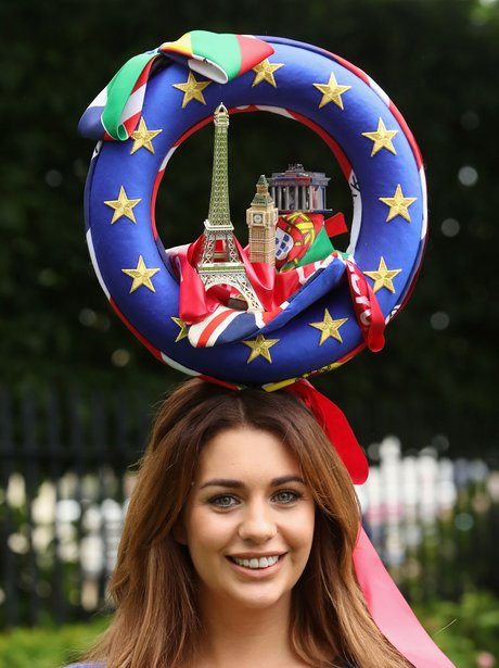 European hat at Ascot