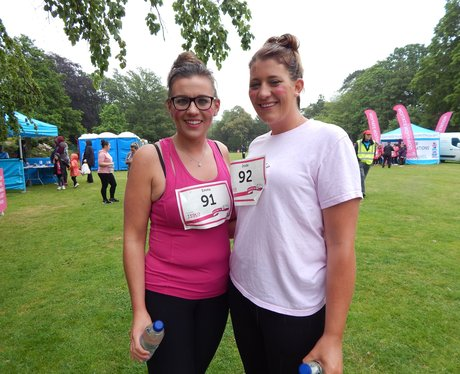 Heart Angels at Hastings Race For Life