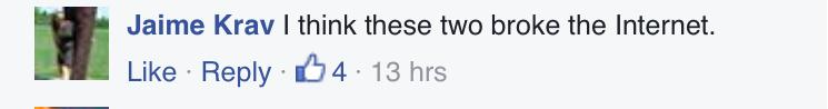 Essex Police goodlooking comments (screenshot)