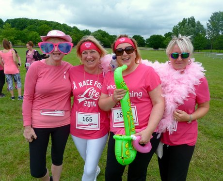 Thousands of ladies took part in Race for Life at Gloucester Park in Basildon. Did we snap you?