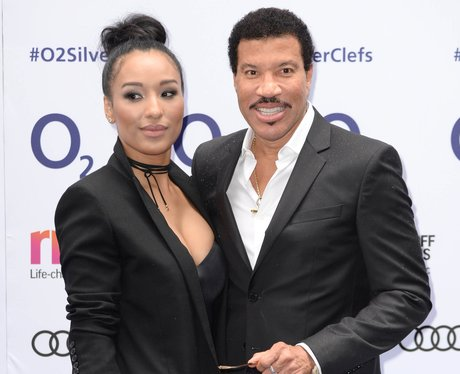 Lionel Richie and Girlfriend Lisa Parigi