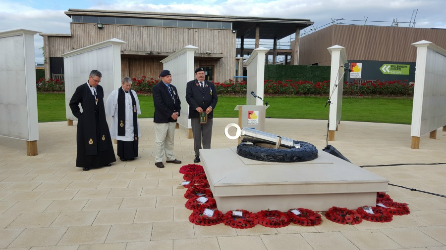 The National Memorial Arboretum mark 100 years sin