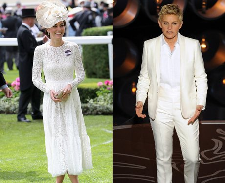 Ellen DeGeneres and Duchess Of Cambridge