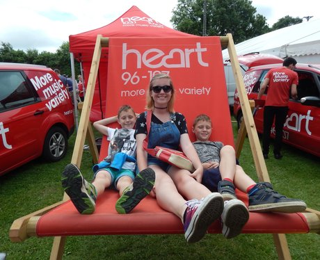 Heart at The Kent County Show - Saturday