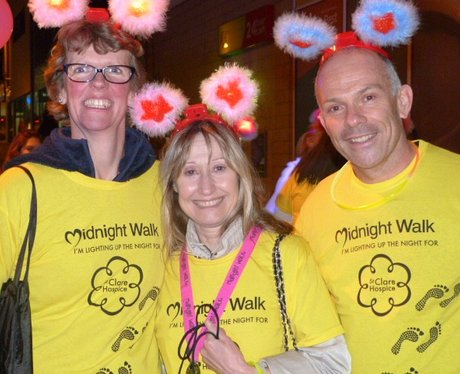 St Clare Hospice Midnight Walk 2016