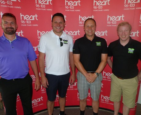 Heart's Charity Golf Day At The Burstead