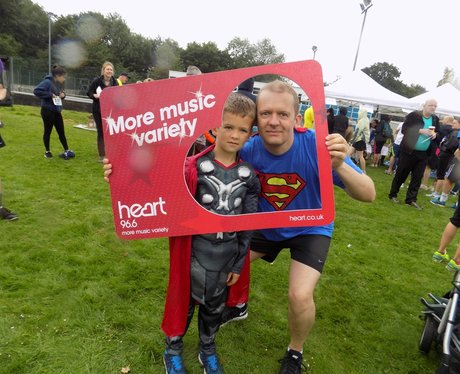 Rennie Grove 10K and 1.5K Superhero Fun Run- Befor