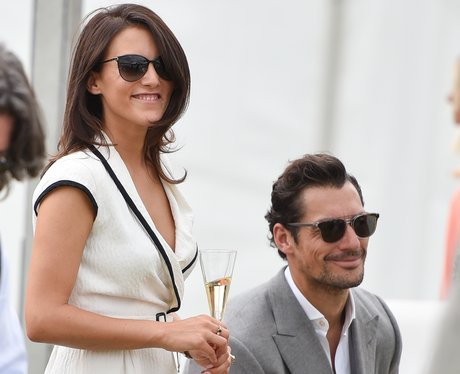 Gandy and Mendoros at the polo