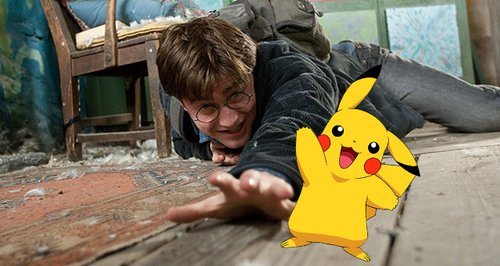 Image result for harry potter pokemon go