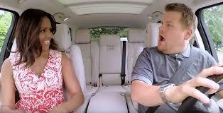 James Corden and Michelle Obama Carpool