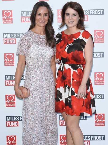 Pippa Middleton and Princess Eugenie