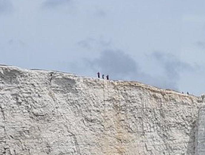 beachy head walkers zoom