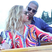 Image 9: Beyonce and Jay Z cuddle up in new holiday photos