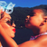 Image 8: Blue Ivy, Beyonce, kiss, family, holiday