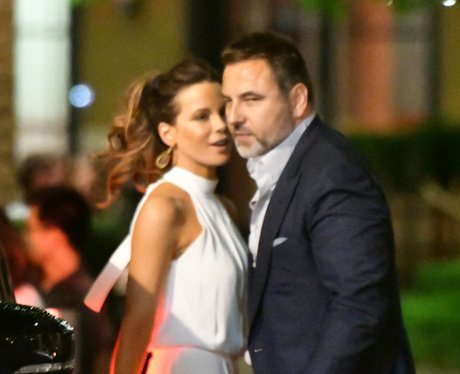 David Walliams, Kate Beckinsale, dinner date