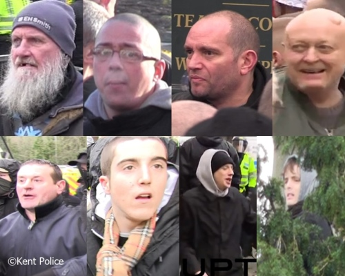 Dover protests cctv