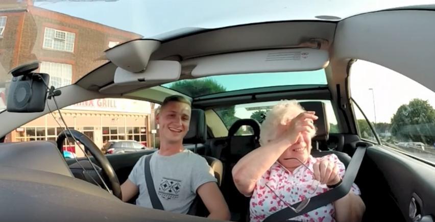 Grandma Iris Radio Suprise