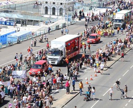 Heart At Brighton Pride 2016