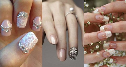 21 Beautiful Bridal Nail Art Designs To Stand Out On Your Wedding