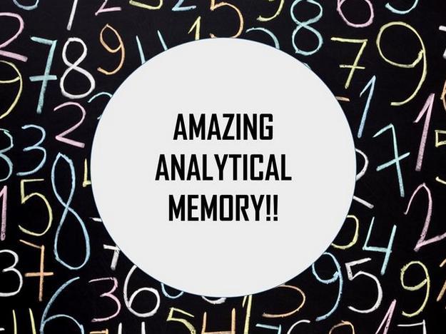 Amazing Memory stock photo