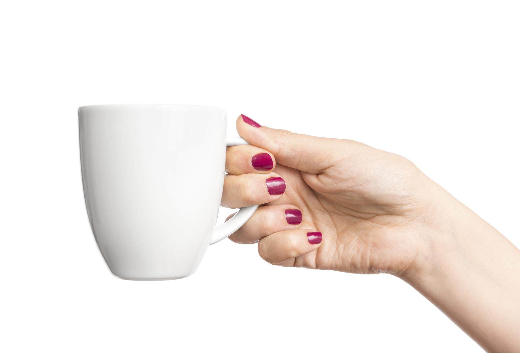 coffee cup grab