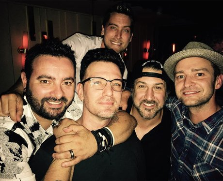 N Sync reunion picture