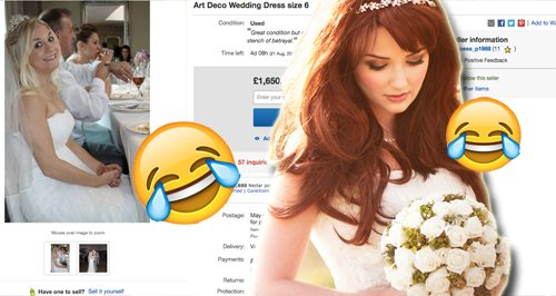 What This Woman Does With Her Wedding Dress After Husband