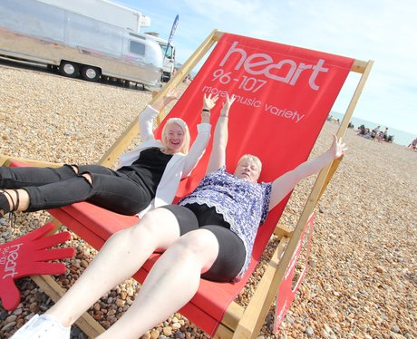 Heart Angels at The Eastbourne Airshow
