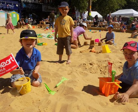 Watford's Big Beach and Screen- 15th of August