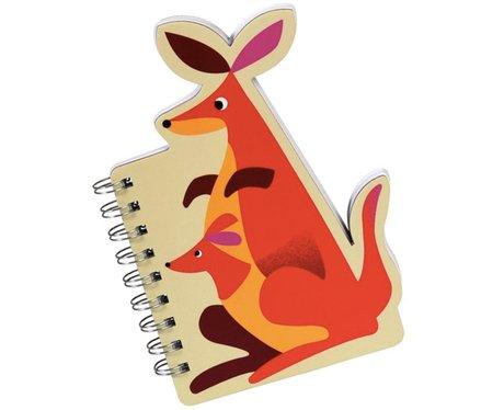 Dotcomgiftshop Kangaroo Spiral Notepad