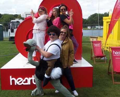 Rewind Festival - Saturday - The Giant Heart