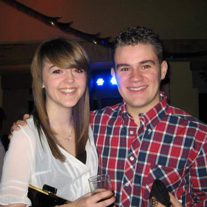 Harry Forsyth with Sarah Robotham