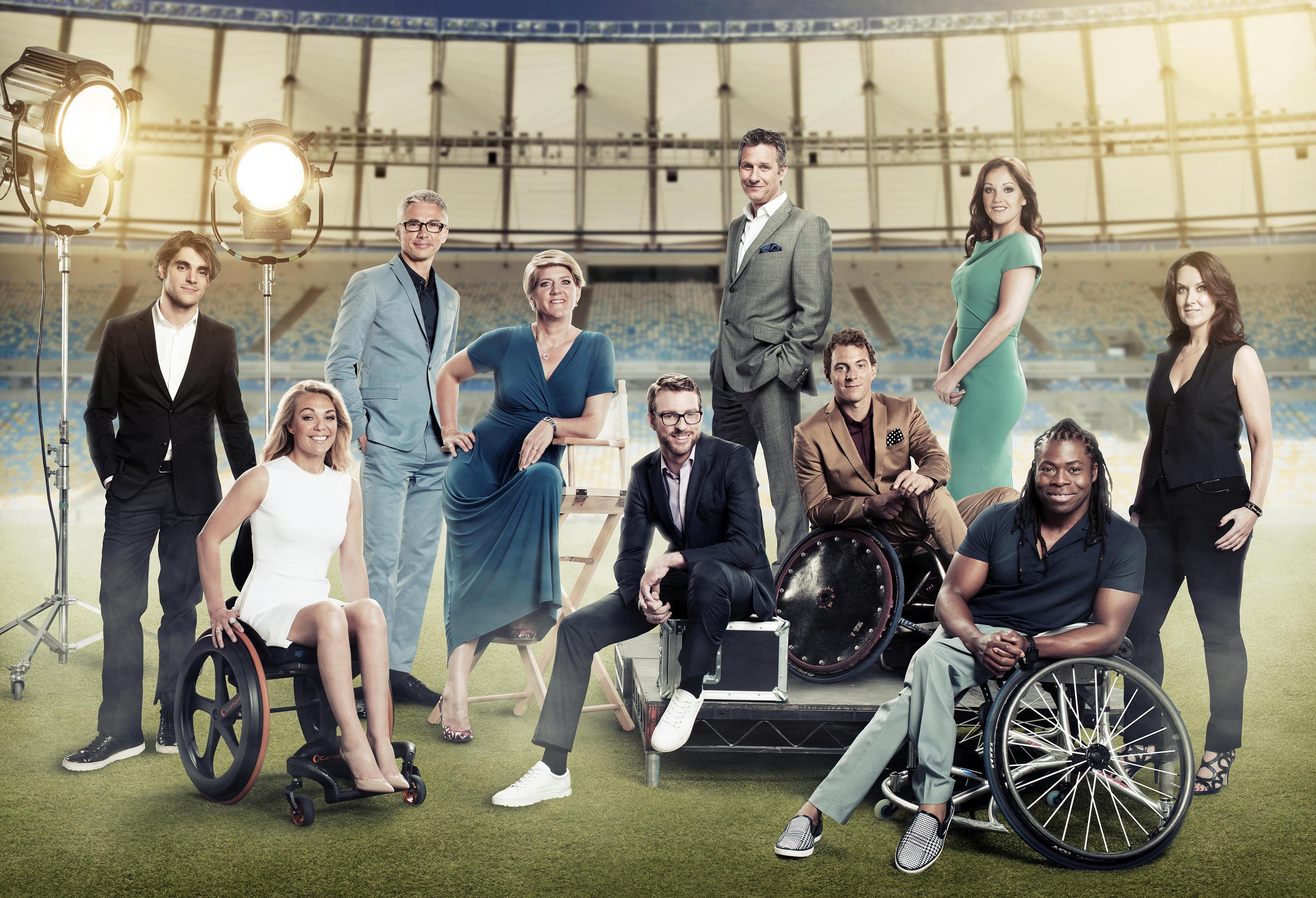 paralympic presenters line up
