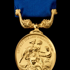 Gold Medal for gallantry