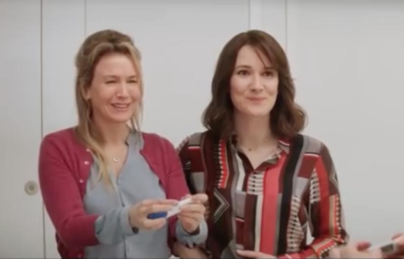 Bridget Jones Baby Friendships Renee Zellweger