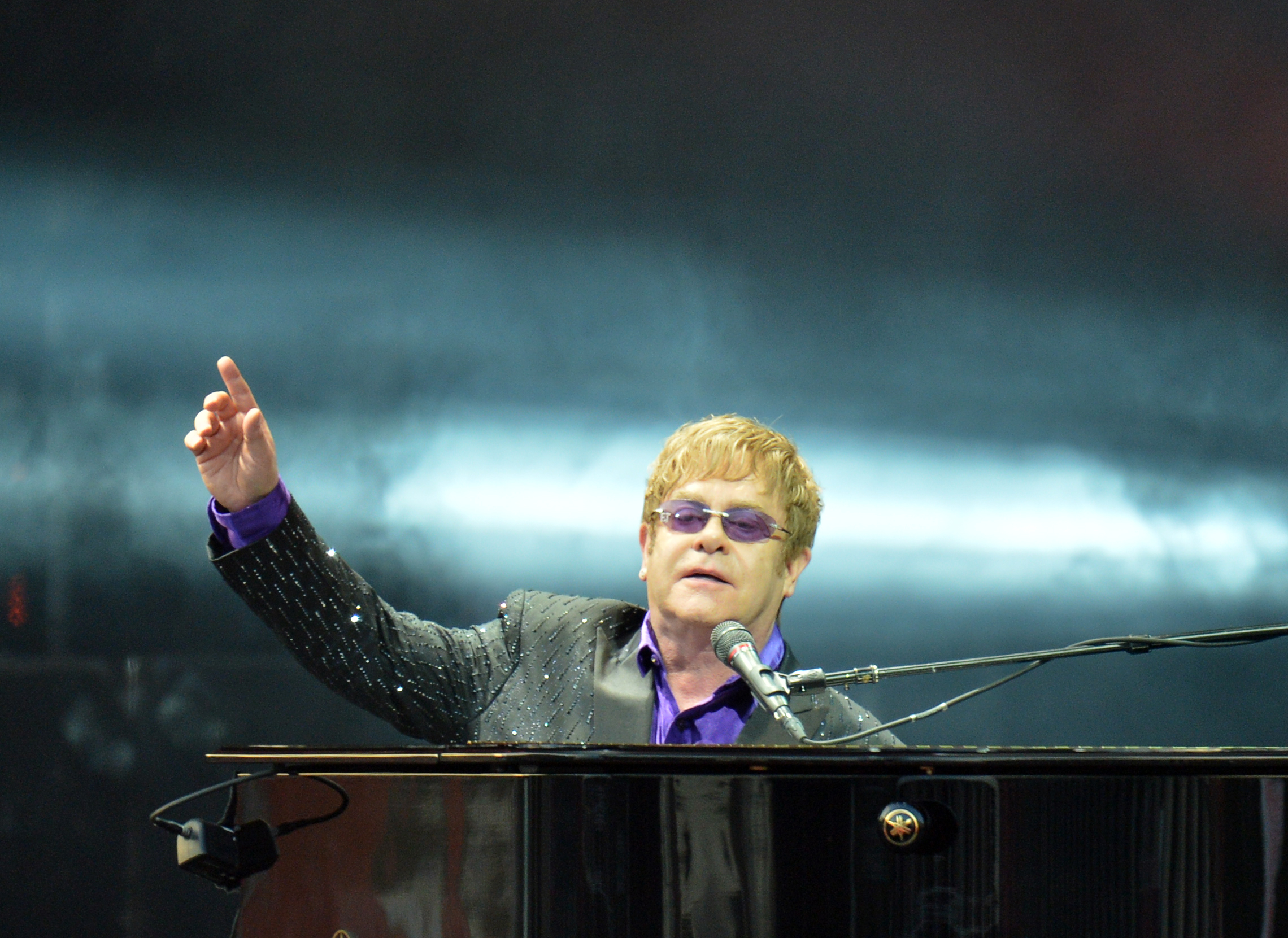 Elton John is the most charitable celebrity this y