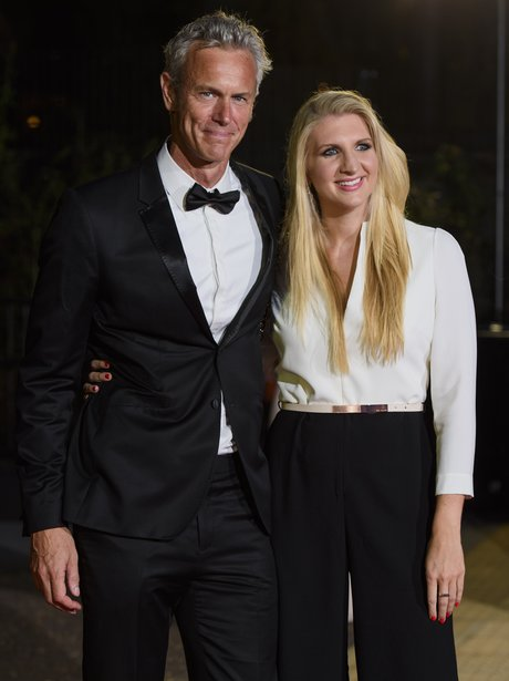 Mark Foster and Rebecca Adlington GQ Awards